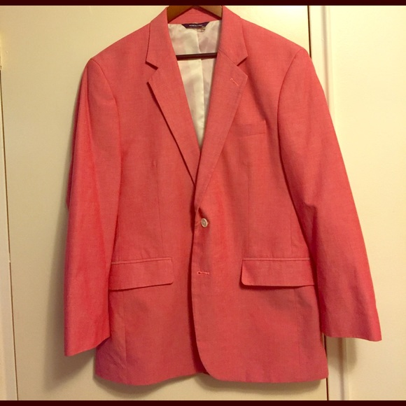 croft barrow suits blazers salmon vineyard red sports coat