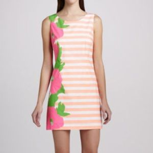 Lilly Pulitzer Dresses & Skirts - Lilly Pulitzer Delia Floral Stripe Dress