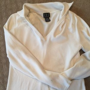 INC collared vneck sweater