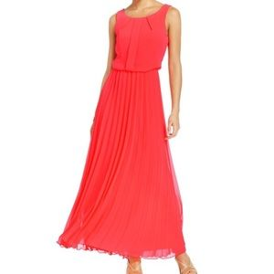 B Darlin Dresses & Skirts - B. Darlin | Tangerine Pleated Dress (Size 3/4)