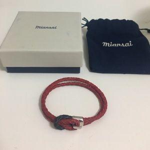 Miansai Jewelry - Miansai Double wrap leather bracelet