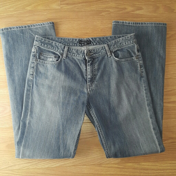 Banana republic low rise boot cut jeans