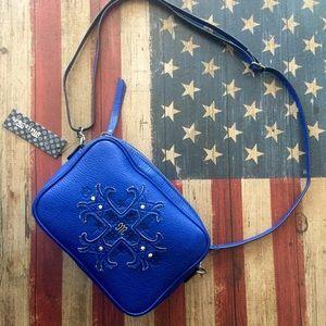 Miss Me Handbags - SALE!! NWT Rare miss me royal blue purse