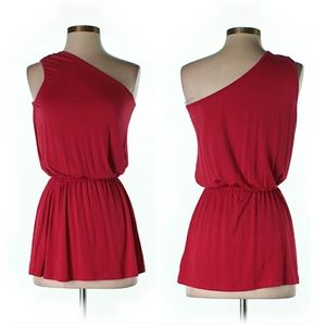 Rachel Pally Tops - Red Hot One Shoulder Sexy Top