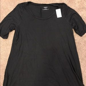 Nwt motherhood maternity black tunic size large