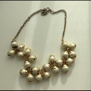 J.crew floating pearls necklace