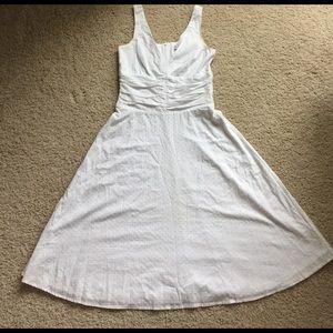 Lucy Love Dresses & Skirts - White v-neck dress