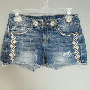 Maurices Pants - 🌻🌻🌻 CLEARANCE. Denim Short Shorts