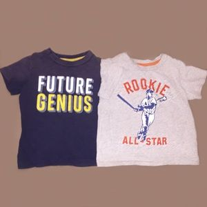 Carter's Other - Toddler boy t-shirts x 2