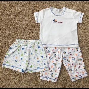 Kissy Kissy Other - Kissy Kissy 0-3 month shirt/pant set & shorts
