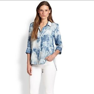 Anthropologie - Cloth & Stone - Acid-wash Chambray