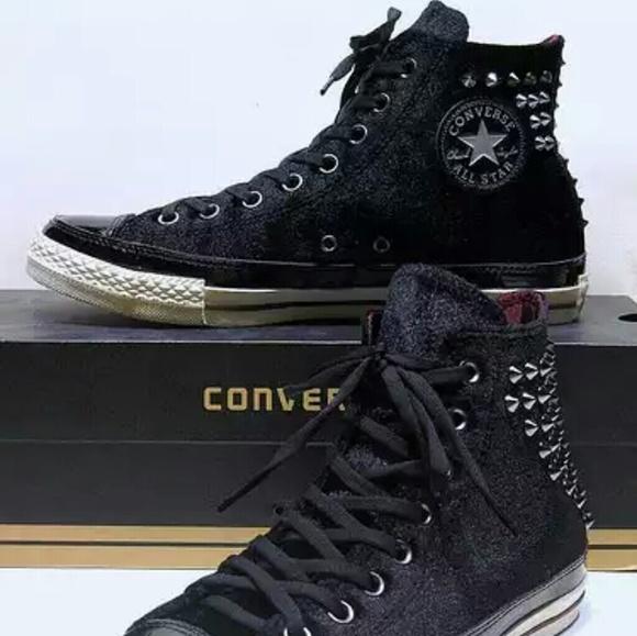 e67b793cb88b NEW Converse Chuck Taylor Velvet Studded Spike