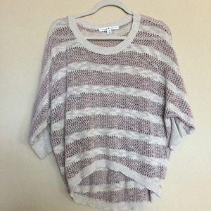 Sweaters - Bat wing short sleeve sweater