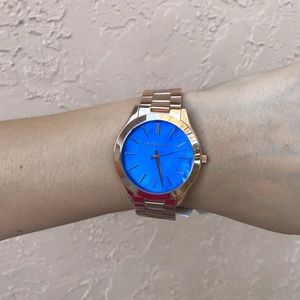 Michael Kors Accessories - New Michael Kors MK3494 Slim Runway Women's Watch