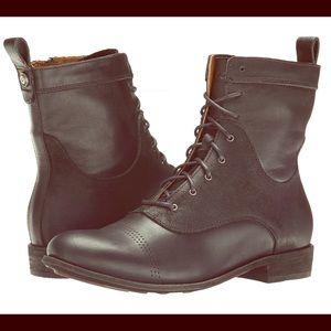 OluKai Shoes - NEW Nani Kamea Olukai Black Leather Boots