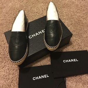 CHANEL Shoes - 💯 Authentic Chanel Espadrilles Sz 37