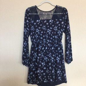 Forever 21 Dresses & Skirts - Forever 21 navy dress