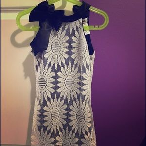 Joe & Elle Other - 💖 B/W party lace mock neck dress 💖🎉