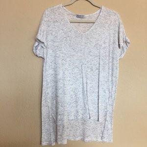 Fashion Nova Tops - Light grey long t shirt