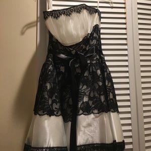 F L A S H S A L E ! ! Black and white  dress