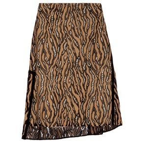 3.1 Phillip Lim Dresses & Skirts - 3.1 Phillip Lim Camel Lace Asymmetrical Skirt