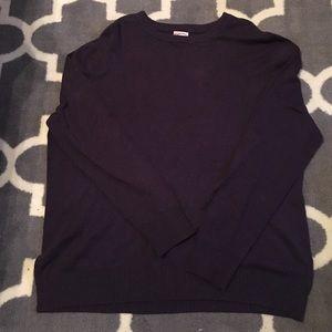 Eggplant colored cozy XXL sweater