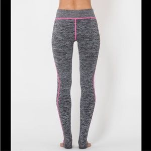 Electric Yoga Pants - Electric Yoga Marled Pink work out leggings
