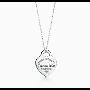 Tiffany & Co. Jewelry - 🌹sterling silver Tiffany & Co necklace 🌹