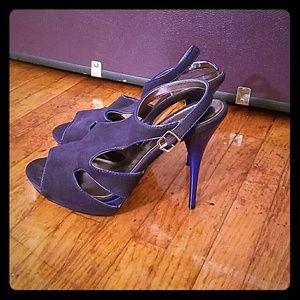 Shoe Dazzle Shoes - Purple heels From Shoedazzle