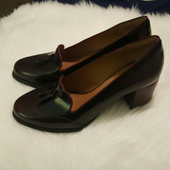 a9409b9df44d4 Clarks Shoes | Artisan Leather Pumps W Tassel Tarah Rosie | Poshmark