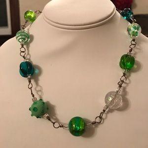 Fabulous Vintage beaded necklace!