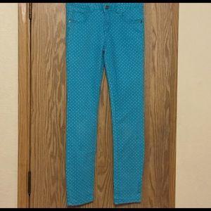 Imperial Star Other - Girls polka dot skinny jeans