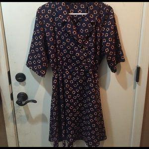 Reclaimed Vintage Dresses & Skirts - Vintage Life Preserver Dress