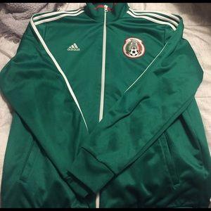Men's Adidas Mexico Zip Up Jacket