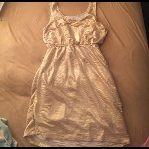 Gold Cocktail Dress - Worn once - Size L