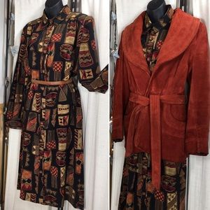 Vintage Leslie Fay Festive Colorful Print Dress