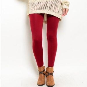 Nordstrom Pants - ❗️1 LEFT Nordstrom Berry Leggings NWT