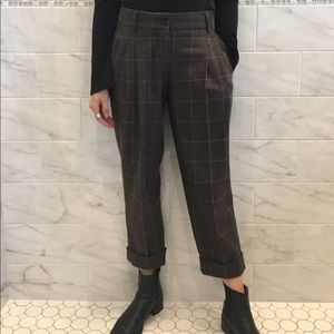 UNIF Denim - Dolce & Gabbana Plaid Trouser Pants