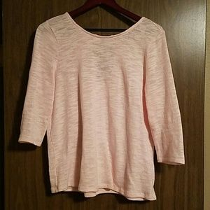 Market & Spruce pink sweater