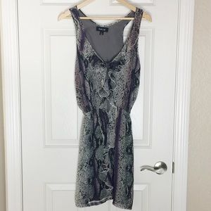 Charlie Jade Dresses & Skirts - Charlie Jade Silk Racerback Dress