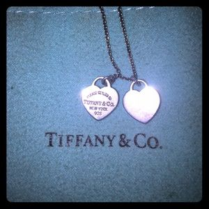Tiffany & Co. Jewelry - Used/good condition Tiffany & Co heart necklace