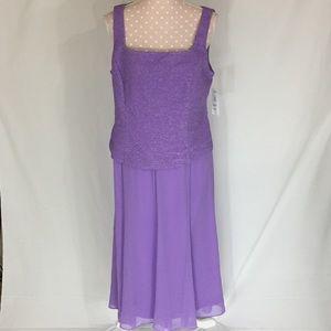 Alex Evenings Dresses & Skirts - Alex Evenings Purple Gown Size 14P