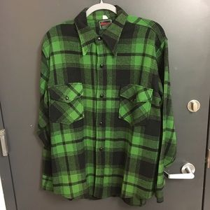 Chippewa Other - Vintage Chippewa Plaid Flannel Jacket (Size: L)