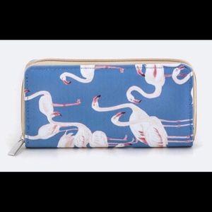 October Love Handbags - Adorable FLAMINGO wallet!