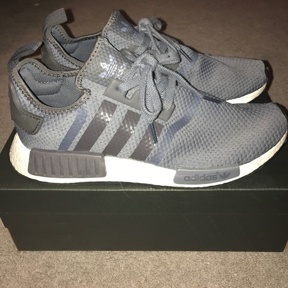 4cefd7a437 Adidas Shoes | Nmd R1 Jd Sports Grey Mens 105 | Poshmark