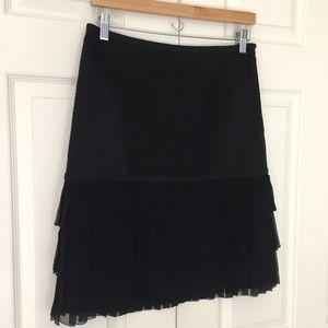 Catherine Malandrino Dresses & Skirts - Final Price Catherine Malandrino Emb. Silk Skirt