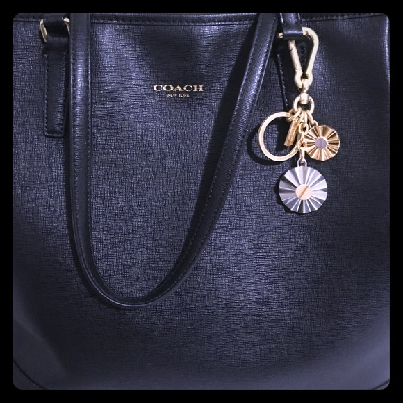 Coach Riveted Charm bag - Pink & Purple 4hZX6