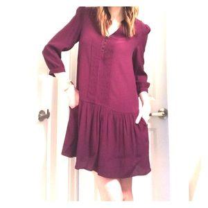 Anthro drop waist Maeve dress