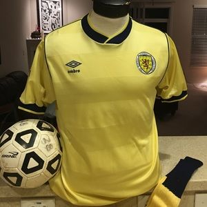 Umbro Other - Vintage Scotland 1986 World Cup jersey and socks