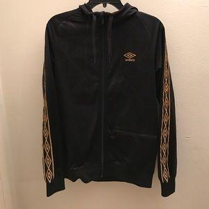 Umbro Other - Umbro Black and Gold Hoodie Zip Up